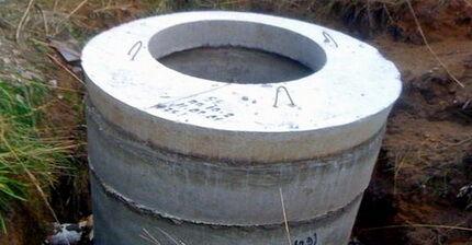 Кессон из бетона