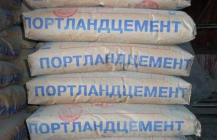 Портландцемент - основной компонент раствора для цементирования