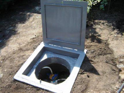 Цементирование водоносной скважины