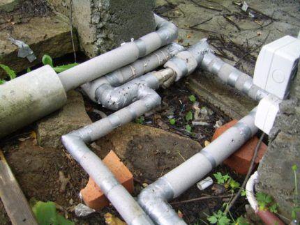 Утепление зимнего водопровода