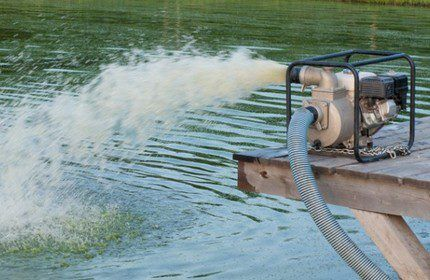 Напор воды на выходе