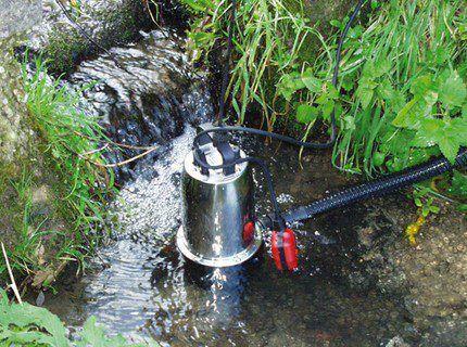 Снижение уровня поверхностных вод