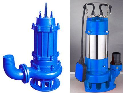 Submersible pump Dwarf for pumping dirty water