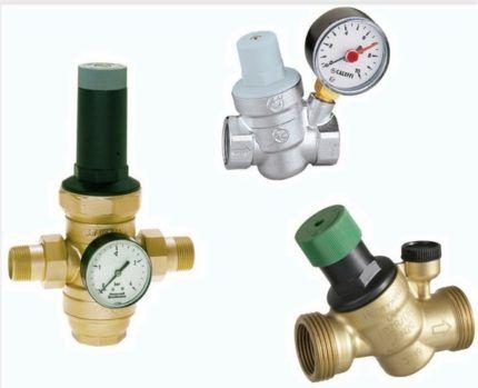 Редукторы - устройства для повышения давления воды