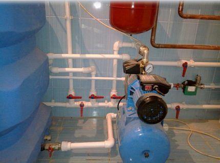 Центробежные насосы для повышения давления воды