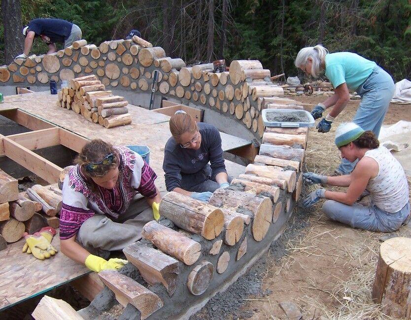 Дом из дров своими руками цена