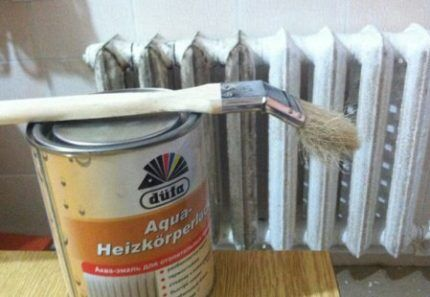 Какую кисточку взять для покраски разиатора