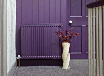 Как интересно покрасить радиатор отопления