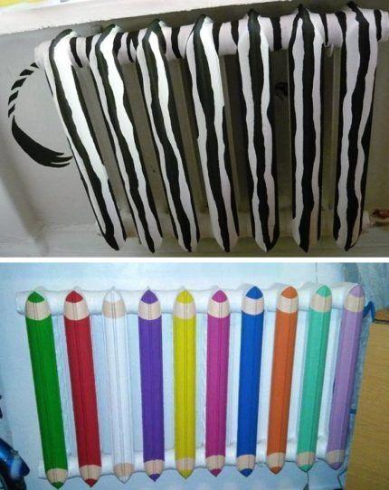 Как покрасить и декорировать радиатор в детской