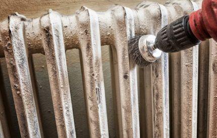 Как подготовить радиатор отопления к окрашиванию