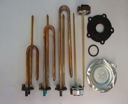 Проверка и замена деталей водонагревателя