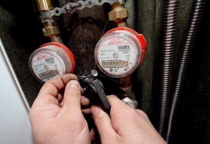 Как вариант установки влияет на выбор водосчетчиков