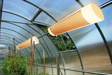 Инфракрасный обогреватель для загородного дома и участка