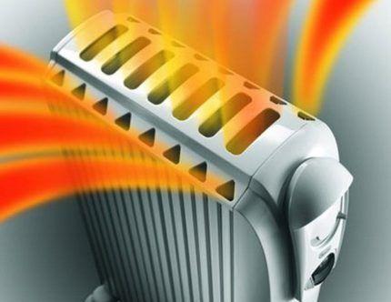 Специфика устройства масляного обогревателя