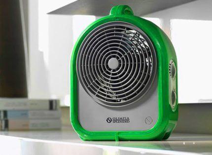Как выбрать самый быстрый тепловентилятор для квартиры