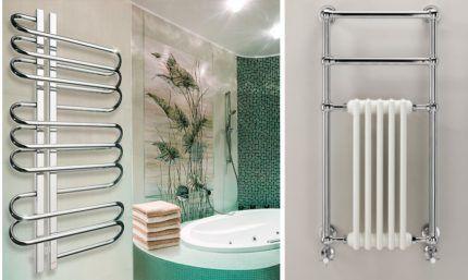 Как выбрать батарею отопления для установки в ванной