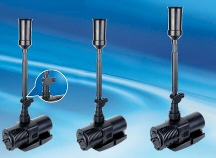 Modifications of submersible pumps for fountains