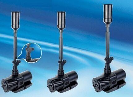 Модификации погружных насосов для фонтанов