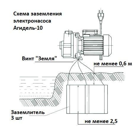 Агидель насос схема подключения фото 173