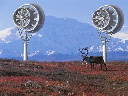 Эксплуатация турбинных ветрогенераторов в тундре