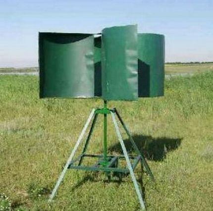 Роторный ветрогенератор