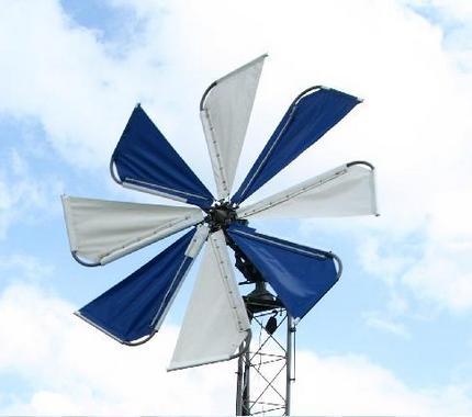 Парусный ветрогенератор