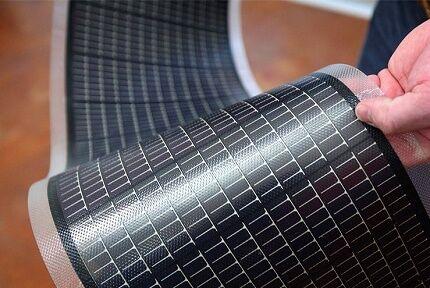 Солнечные батареи с аморфным кремнием