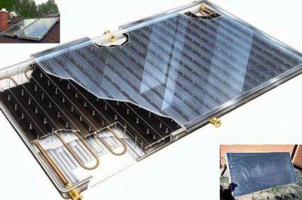 Чем закрыть плоский солнечный коллектор