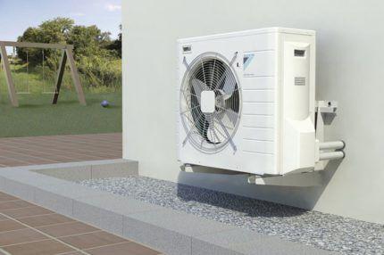 Где нужен тепловой насос воздух-воздух