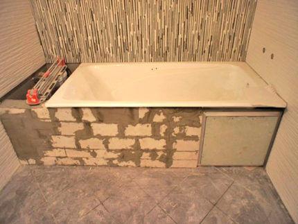 Ванная установка своими руками 500