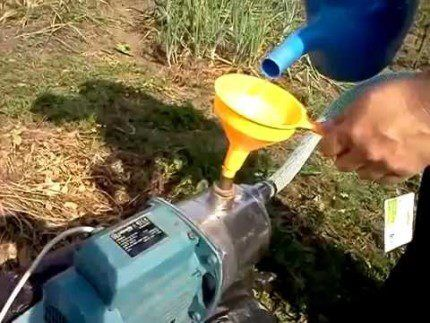Самовсасывающие насосы без предварительной заливки жидкости