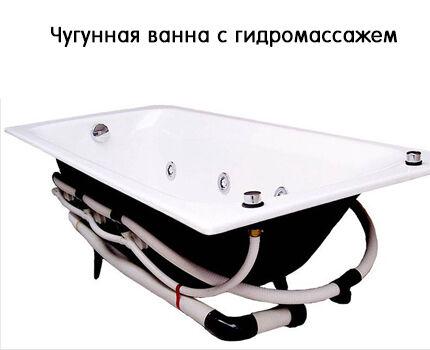 Оборудование ванны с гидромассажем