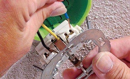 Соответствие сечений кабеля и перемычек