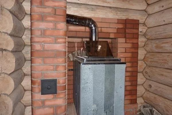 Дымоход железная труба обложенная кирпичом ремонт дымохода в доме
