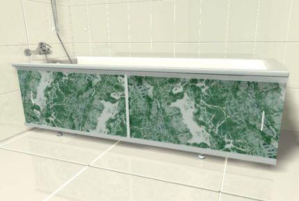 Как сделать пластиковый экран под ванну своими руками