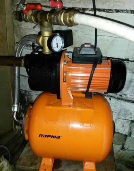 Мощность насосного оборудования