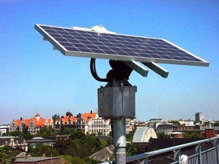 Устройство слежения за солнцем