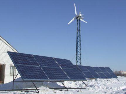 Солнечные батареи на Севере