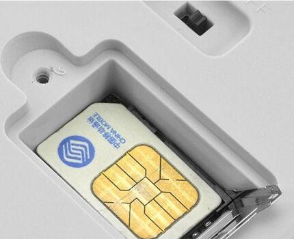 Сим-карта в GSM-розетке