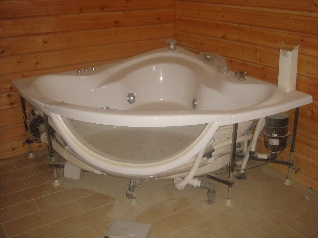 Инструкция по установке ванны своими руками