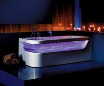 Bath backlight