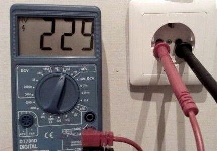 Мультиметр для электрических измерений
