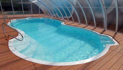 Сложная конфигурация бассейна
