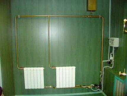 Двухтрубное отопление в частном доме