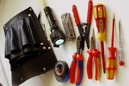 Tool kit for electrician