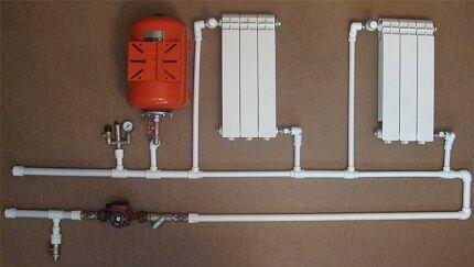Подключение приборов в системе отопления ленинградка