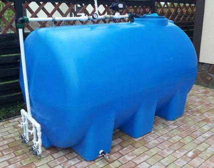 Резервуар для сбора дождевой воды