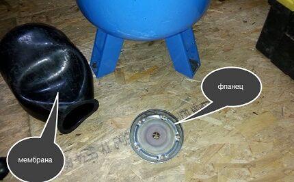 Ремонт гидроаккумулятора