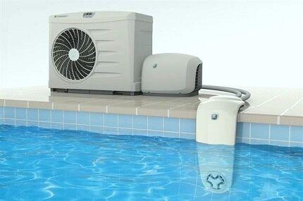Где установить тепловой насос для бассейна