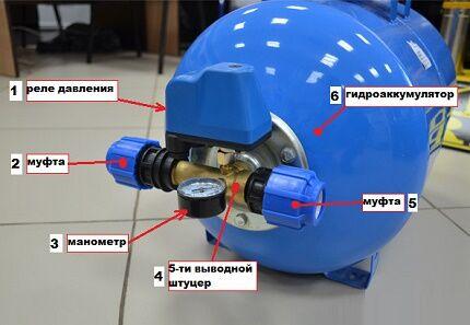 Как грамотно подключить к системе водоснабжения гидроаккумулятор